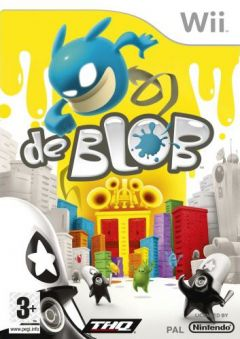 Jaquette de de Blob Wii