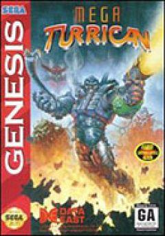 Jaquette de Mega Turrican Mega Drive