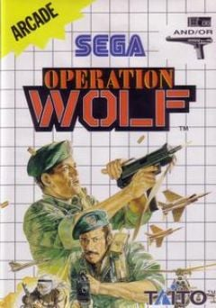 Jaquette de Operation Wolf Master System