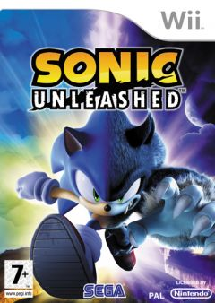 Jaquette de Sonic Unleashed : La Malédiction du Hérisson Wii