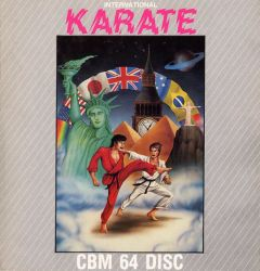 Jaquette de International Karate Commodore 64