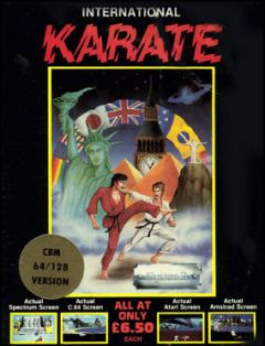 Jaquette de International Karate ZX Spectrum