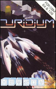Jaquette de Uridium Commodore 64