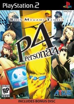 Jaquette de Persona 4 PlayStation 2