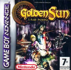 Jaquette de Golden Sun : l'Âge Perdu Game Boy Advance