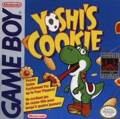 Jaquette de Yoshi's Cookie Game Boy
