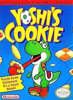 Jaquette de Yoshi's Cookie NES