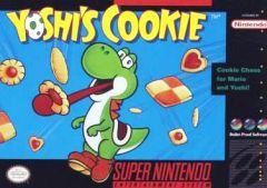 Jaquette de Yoshi's Cookie Super NES