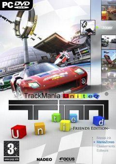 Jaquette de TrackMania United PC
