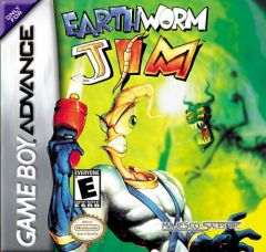 Jaquette de Earthworm Jim Game Boy Advance