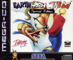 Jaquette de Earthworm Jim MegaCD