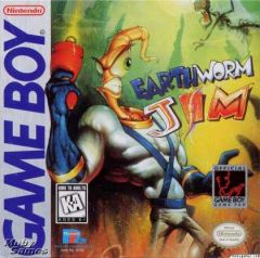 Jaquette de Earthworm Jim Game Boy