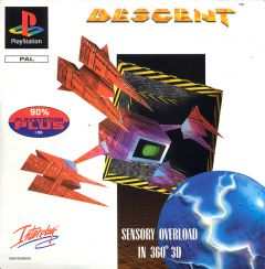 Jaquette de Descent PlayStation