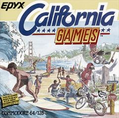 Jaquette de California Games Commodore 64