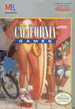 Jaquette de California Games NES