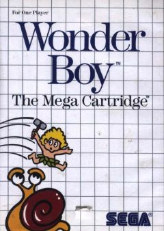 Jaquette de Wonder Boy Master System