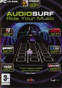 Jaquette de Audiosurf PC