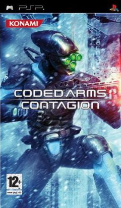 Jaquette de Coded Arms Contagion PSP