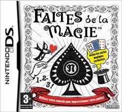 Jaquette de Faites de la Magie DS