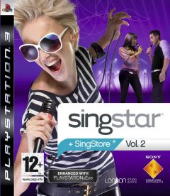 Jaquette de SingStar Vol. 2 PlayStation 3
