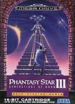Jaquette de Phantasy Star III : Generations of Doom Mega Drive