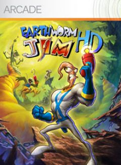 Jaquette de Earthworm Jim HD Xbox 360