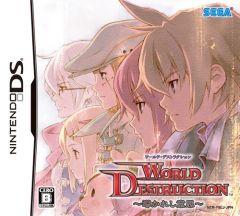 Jaquette de World Destruction DS