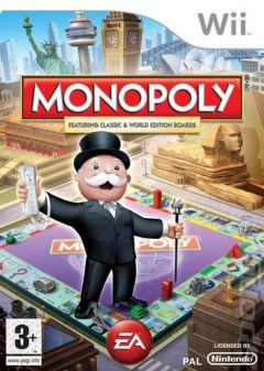 Jaquette de Monopoly Wii