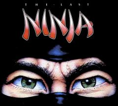 Jaquette de The Last Ninja Commodore 64