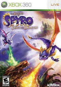 Jaquette de La Légende de Spyro : Naissance d'un Dragon Xbox 360