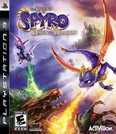 Jaquette de La Légende de Spyro : Naissance d'un Dragon PlayStation 3