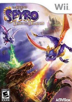 Jaquette de La Légende de Spyro : Naissance d'un Dragon Wii