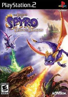Jaquette de La Légende de Spyro : Naissance d'un Dragon PlayStation 2