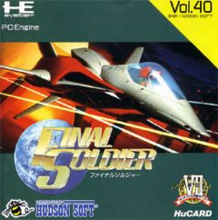Jaquette de Final Soldier PC Engine