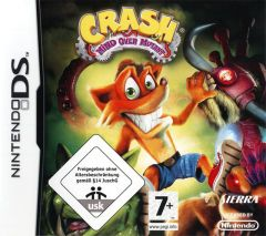 Jaquette de Crash : Mind Over Mutant DS
