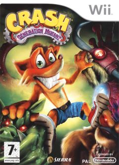Jaquette de Crash : Mind Over Mutant Wii