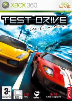 Jaquette de Test Drive Unlimited Xbox 360