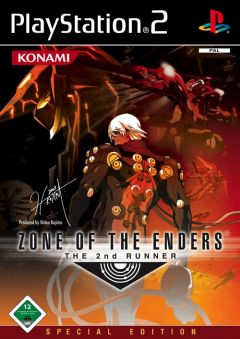 Jaquette de Zone of the Enders : The 2nd Runner PlayStation 2