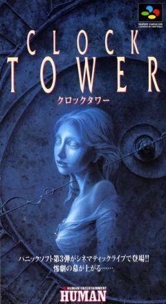 Jaquette de Clock Tower Super NES