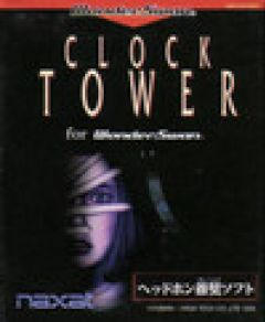 Jaquette de Clock Tower WonderSwan