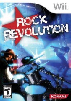 Jaquette de Rock Revolution Wii