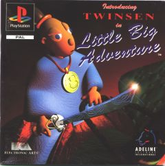 Jaquette de Little Big Adventure PlayStation