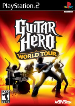 Jaquette de Guitar Hero World Tour PlayStation 2