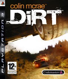 Jaquette de Colin McRae : DIRT PlayStation 3
