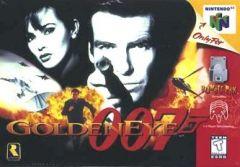 Jaquette de GoldenEye 007 (Original) Nintendo 64