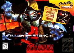 Jaquette de Killer Instinct (original) Super NES