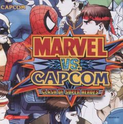 Jaquette de Marvel Vs. Capcom : Clash of Superheroes Dreamcast