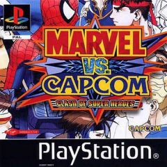 Jaquette de Marvel Vs. Capcom : Clash of Superheroes PlayStation