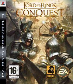 Jaquette de Le Seigneur des Anneaux : l'Âge des Conquêtes PlayStation 3