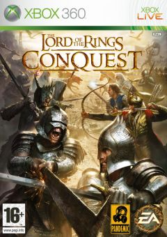 Jaquette de Le Seigneur des Anneaux : l'Âge des Conquêtes Xbox 360